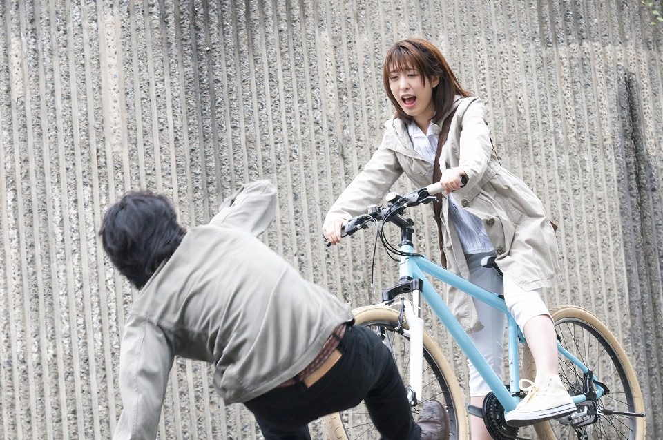 自転車事故が急増しています